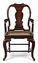 CHINESE EXPORT HUANGHUALI ARMCHAIR LATE 18TH / EARLY 19TH CENTURY 52cm wide, 97cm high