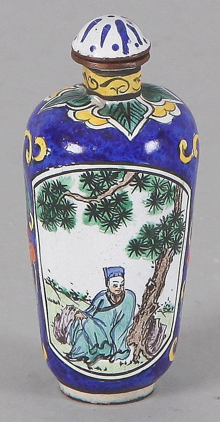 Antique Japanese cloisonne perfume bottle, c. 1900