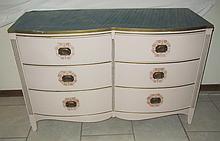 Vintage French Inspired Serpentine Dresser