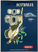 Poster by Harry Rogers - Quantas Australia