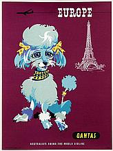 Poster by Harry Rogers - Quantas Europe