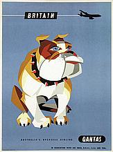Poster by Harry Rogers - Quantas Britain