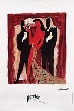 Poster by Bernard Villemot - Perrier