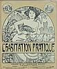 Poster by Alphonse Mucha - l'Habitation Pratique