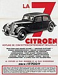 Poster by  Anonymous - La 7 Citroën