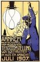 Poster by Daan Hoeksema - Tentoonstelling van Electriciteit Arnhem