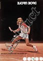 Poster by  Anonymous - Bjorn Borg mit diadora