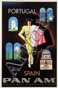 Poster by Jean Carlu - Pan Am Portugal and Spain
