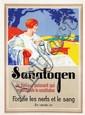 Poster by E. Toussaint - Sanatogen