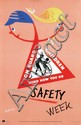 Posters (2) by Fritz Reiss - On Guard Children Safety Week
