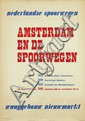 Poster by Willem Sandberg - Amsterdam en de spoorwegen
