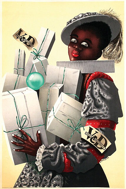 Poster by  Roest - Vroom & Dreesmann Black Piet