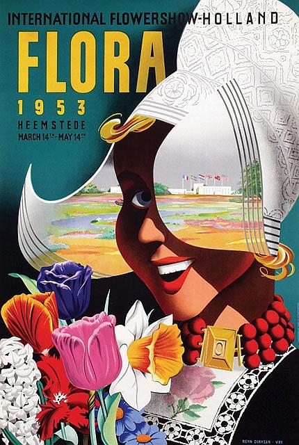 Poster by Reyn Dirksen - Flora