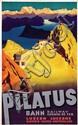 Poster by Otto Ernst - Pilatus Bahn Luzern