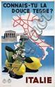 Poster by Ruggero A. Michahelles - Italie Connais-Tu La Douce Terre?