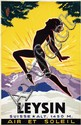 Poster by Jacomo Müller - Leysin