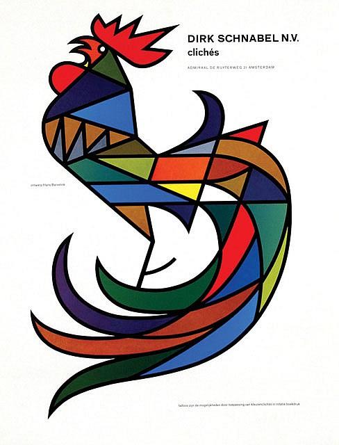 Poster by Hans Barvelink - Dirk Schnabel N.V. clichés