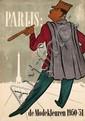 Poster by Arend Meijer - Parijs: de Modekleuren