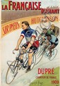 Poster by  Gonzague-Privat - La Francaise Diamant sur Pneus Hutchinson