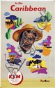 Posters (2) by Leen Spierenburg - KLM to the Caribbean
