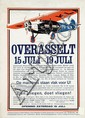 Poster by  Anonymous - Overasselt Vliegweek KLM Fokker