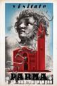 Poster by Carlo Mattioli - Visitate Parma