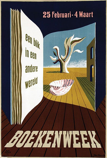 Posters (3) by Jan Bons - Boekenweek