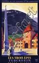 Poster by Claude Gadoud - Les Trois Épis Turckheim