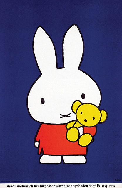Poster by Dick Bruna - Pampers