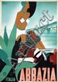 Poster by M. Romoli - Abbazia