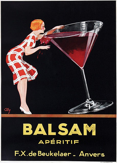 Poster by  Aly - Balsam apéritif