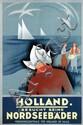 Poster by Emmanuel Louis Joseph Gaillard - Holland besucht seine Nordseebäder