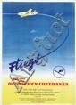 Poster by  Anonymous - Fliegt mit der Deutschen Lufthansa