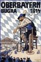 Poster by Otto J. Olbertz - Oberbayern Bugra Löwenbräu München