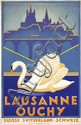 Poster by René Martin - Lausanne Ouchy