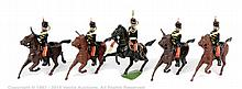 Britains - Set 13 - 3rd Hussars, (1894 version)