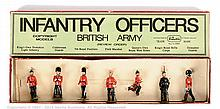 Britains set 1908 - Infantry Officers