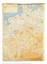 PAIR inc Military Maps - North Western Germany