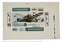 Airfix - Original Printers Box Top Proofs