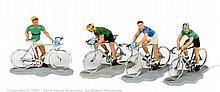GRP inc Britains (Herald), Racing Cyclists
