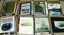 QTY inc Military Books - Approx. 100+ Naval