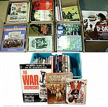 QTY inc Military Books - Approx. 100+ Military