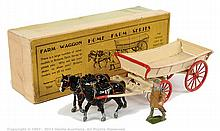 Britains - Set 5F - Farm Wagon, (Pre War