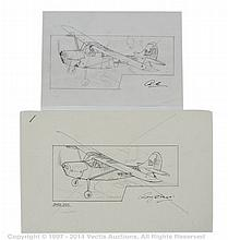 PAIR inc Airfix - Original Roy Cross Artwork