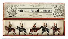 Britains - Set 24 - 9th (Queen's) Royal Lancers