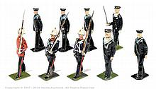GRP inc Britains - from Set 35 - Royal Marines