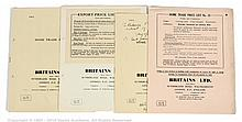 GRP inc Britains - Post War Ephemera, 1950's