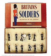 Britains - Set 1291 - Band of the Royal Marines