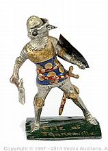 Richard Courtenay - Foot Knight, Erle