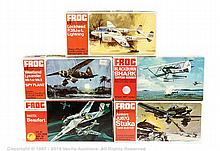 GRP inc Frog 1/72nd Aircraft Range, Red Series